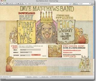 Descarga gratis el nuevo single de Dave Matthews Band