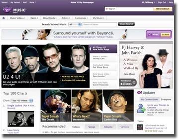 Yahoo Music se reinventa