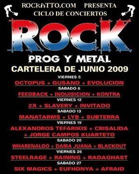 Ciclo Rock Prog y Metal