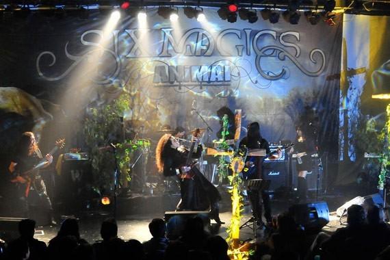 Six Magics en vivo   Foto: Javier Valenzuela