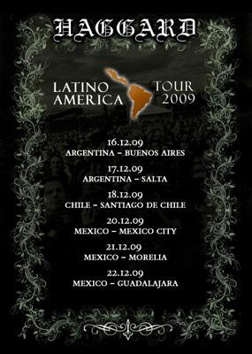 Haggard Latinoamérica Tour
