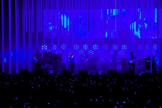 Radiohead n' vivo en Santiago