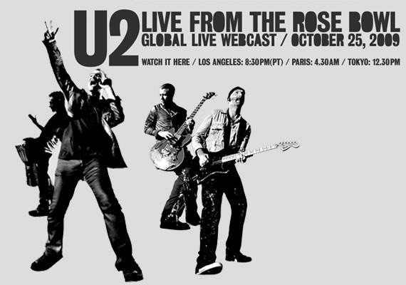 U2 transmitirá en vivo concierto en L.A.