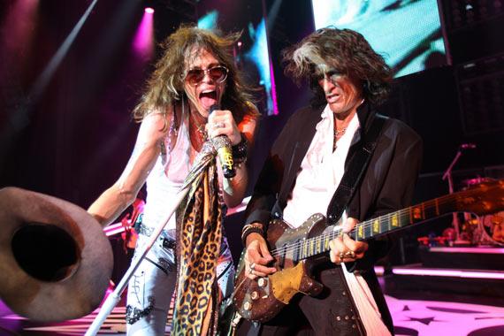 Aerosmith - Steven Tyler & Joe Perry