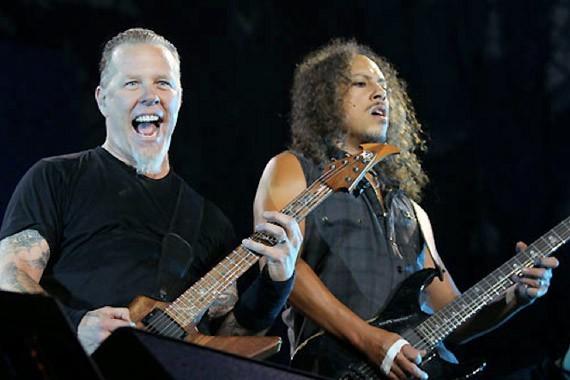 Metallica n' vivo en México
