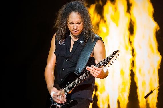 Metallica - Kirk Hammett n' vivo