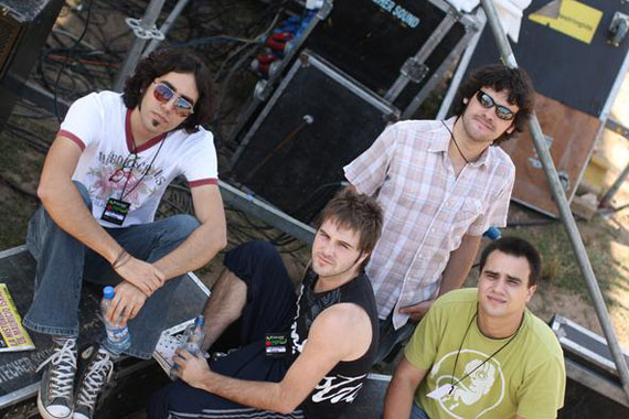 Tejado Pimiento, banda chilena de Folk Rock