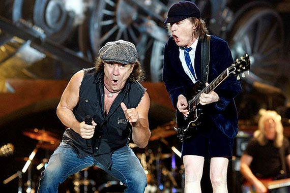 AC/DC en vivo