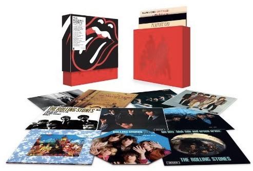 The Rolling Stones Reedita Todos Sus Discos En Vinilo