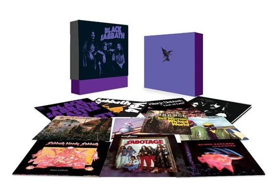 Black Sabbath Reeditar 225 En Vinilo Sus Discos Con Ozzy