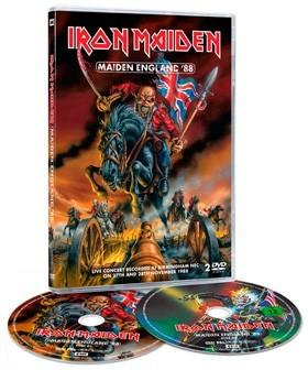 """Iron Maiden - """"Maiden England '88"""" (2013)"""