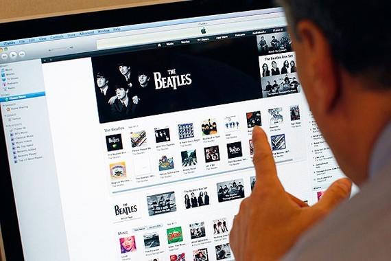 Venta de música digital