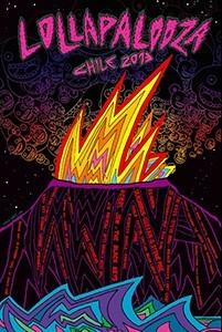 Poster Lollapalooza Chile 2013 -- IGNACIO PRIETO