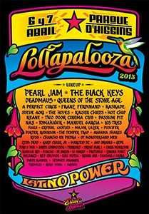 Poster Lollapalooza Chile 2013 - ELLIOT TUPAC