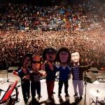 Cuarteto de Nos en el Luna Park | ©MEDIODESCOCIDO Art Dolls