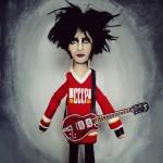 Robert Smith (The Cure) | ©MEDIODESCOCIDO Art Dolls