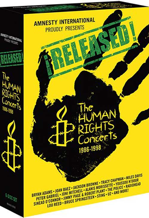 Released: The Human Rights Concerts 1986-1998