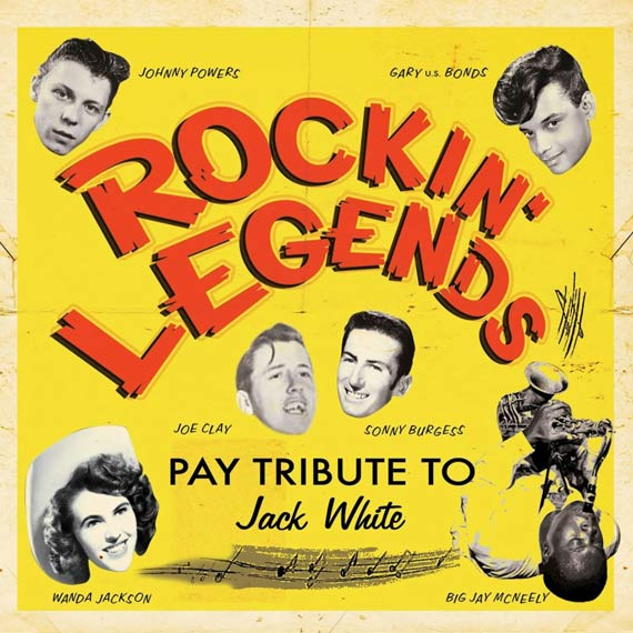 Rockin' Legends Pay Tribute to Jack White (2013)