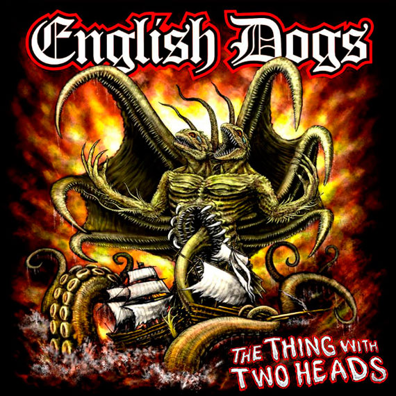 English Dogs - 'The Thing With Two Heads' (2014)