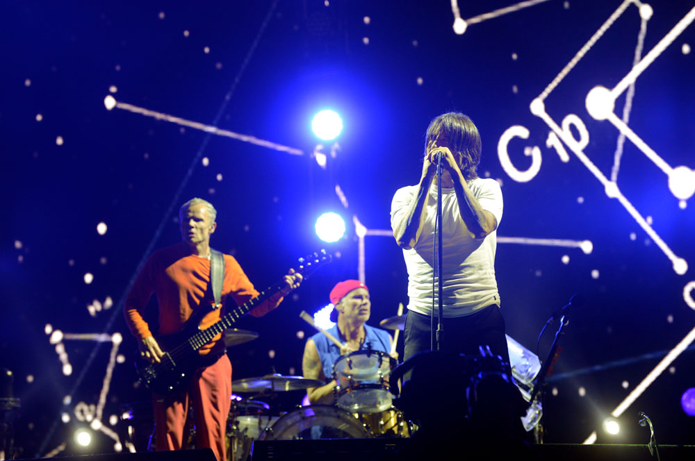 RED HOT CHILI PEPPERS - Lollapalooza Chile 2014 | Fotógrafo: Javier Valenzuela