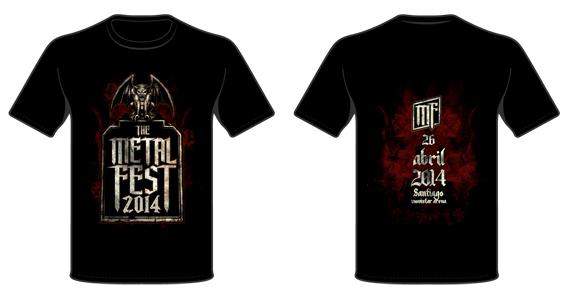 Poleras - The Metal Fest 2014