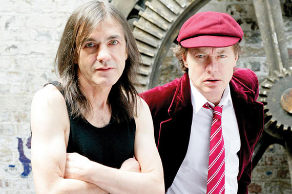 AC/DC - Malcolm y Angus Young
