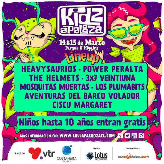 Kidzapalooza - Chile - 2015