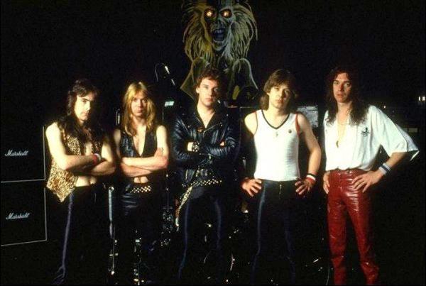 Alineación de Iron Maiden en 1980
