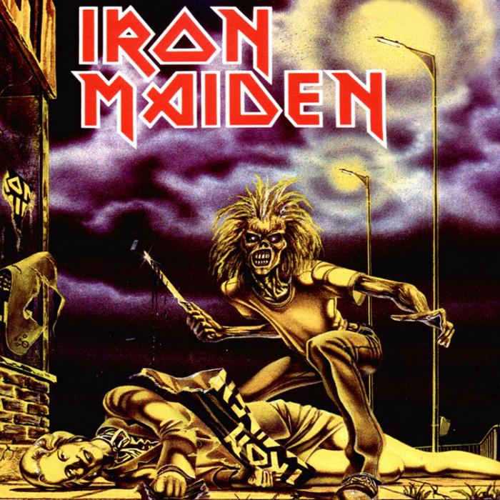 "Single ""Sanctuary"" de Iron Maiden"