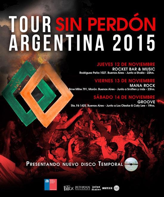 Sin Perdón - Argentina - 2015