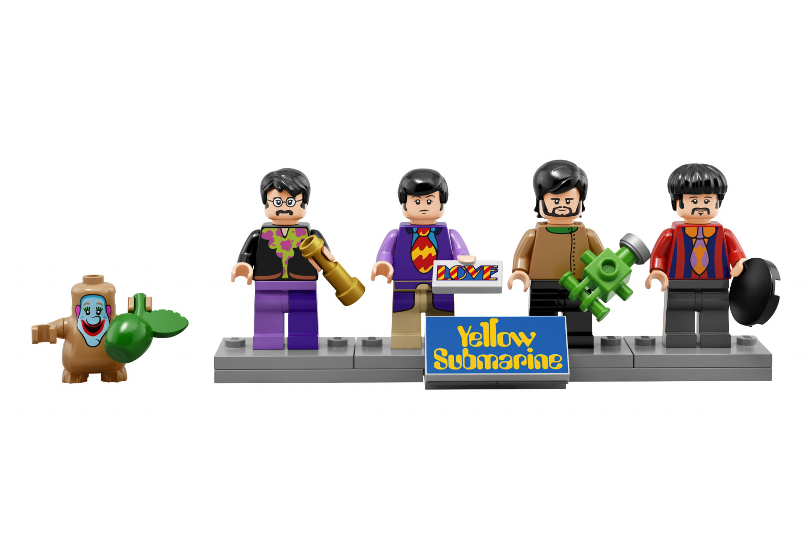 yellow submarine lego