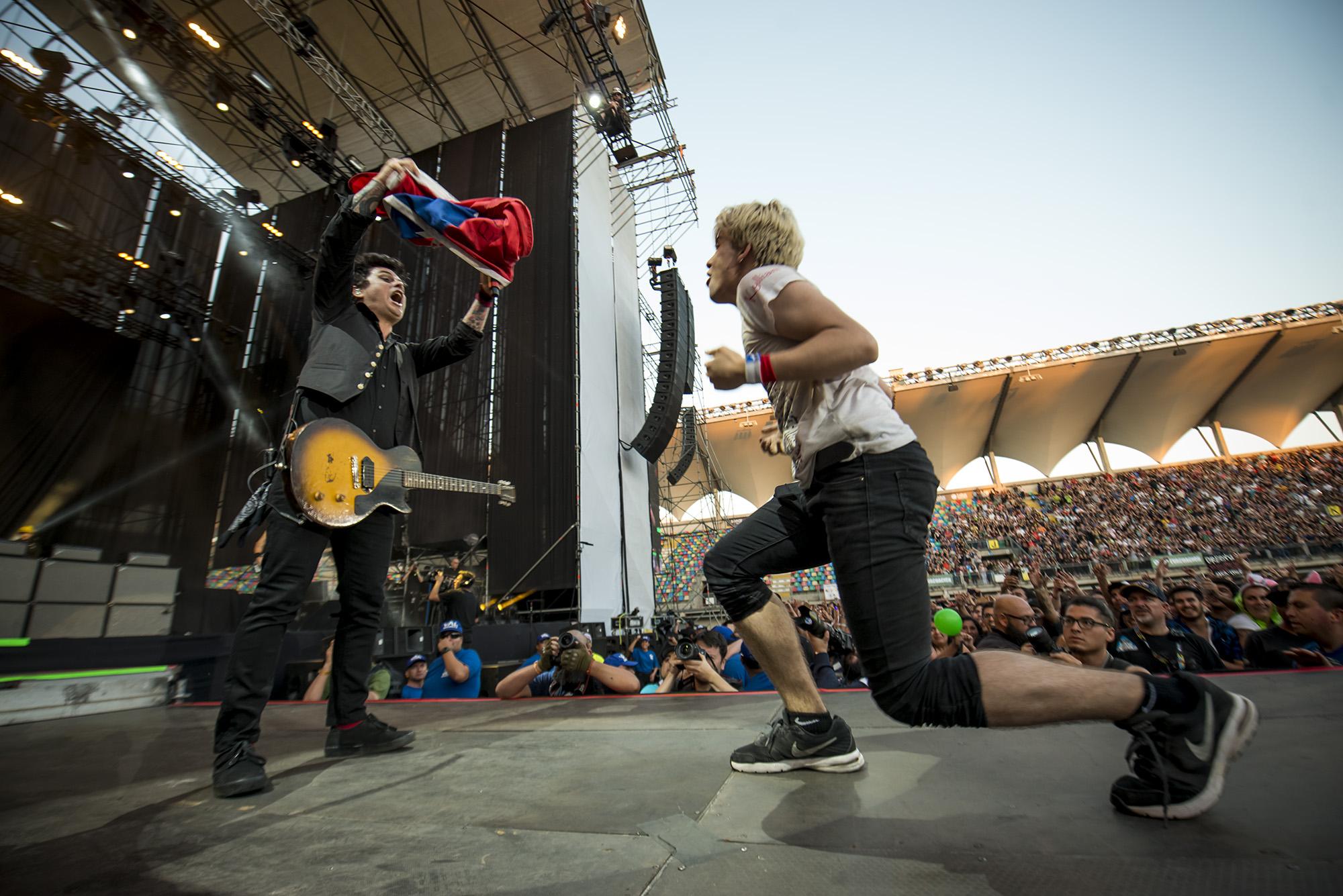 Green Day | Las postales que dejó su concierto en Lima